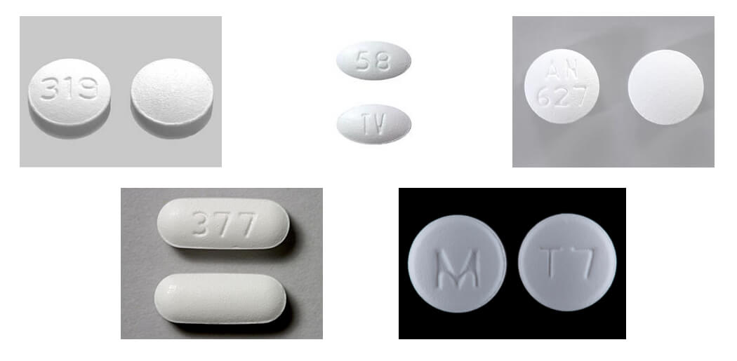 end addiction to tramadol picture of tramadol pills with different numbers stamped into each pill 319, tv 58, 377, an 627, m t7